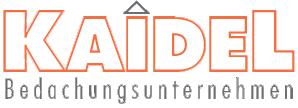Kaidel GmbH Bedachungsunternehmen Logo
